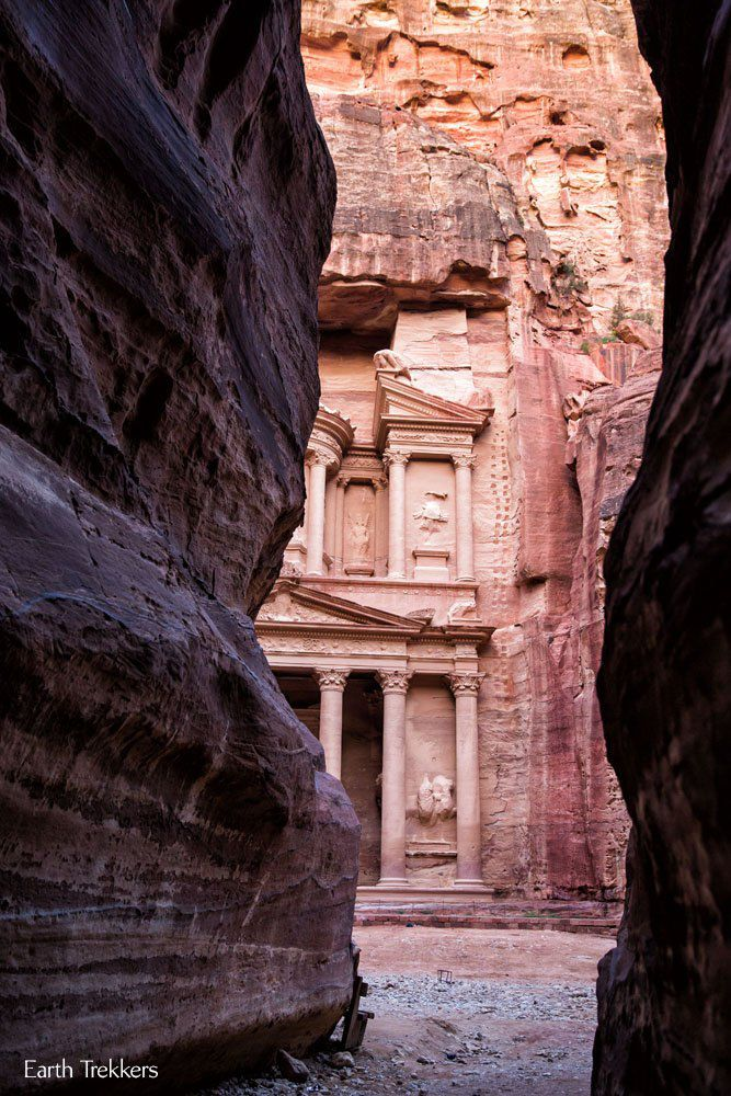 Petra Jordan in April