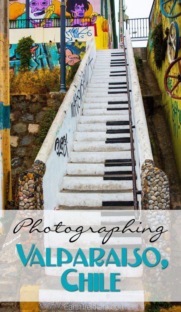 Photographing Valparaiso Chile