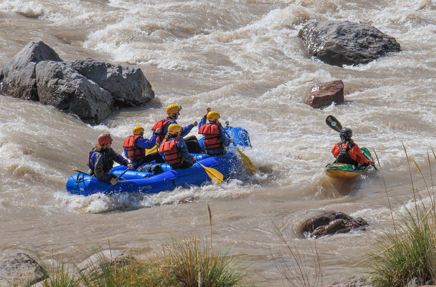 Rafting Rio Mendoza