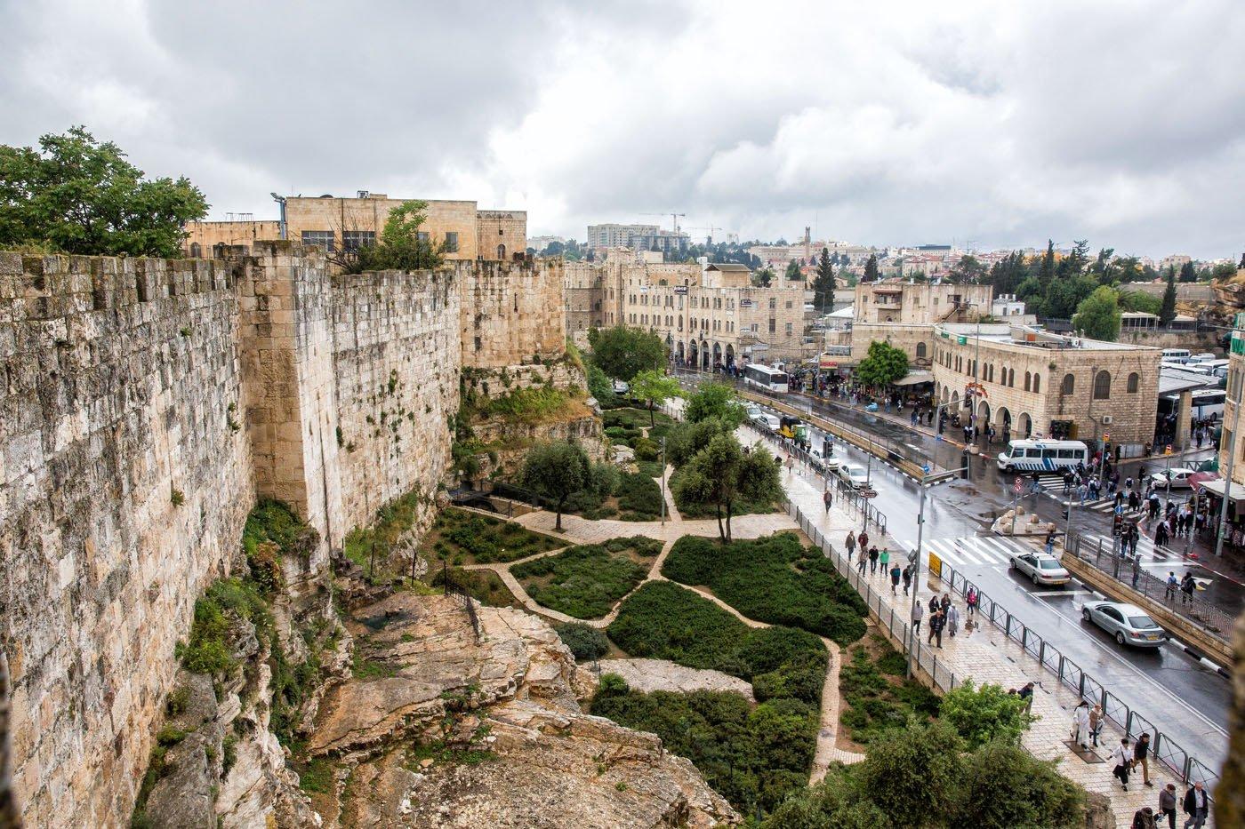 Ramparts Walk Jerusalem