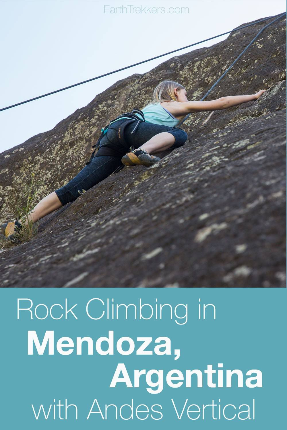 Rock Climbing Mendoza Argentina with Kids