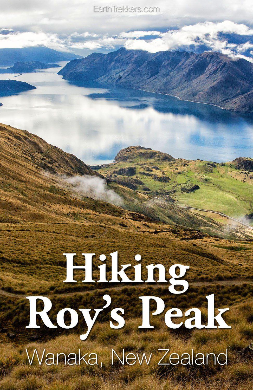 Roy's Peak Track Wanaka New Zealand