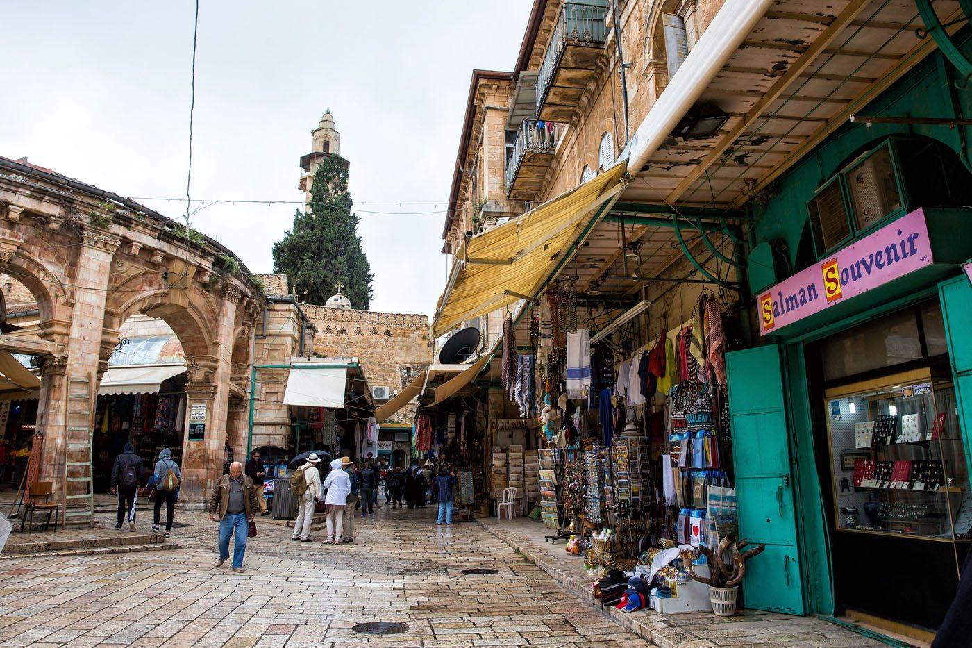 Shops in Jerusalem