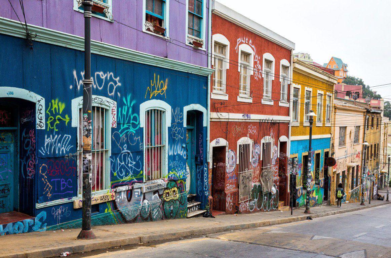 Street Valparaiso Chile