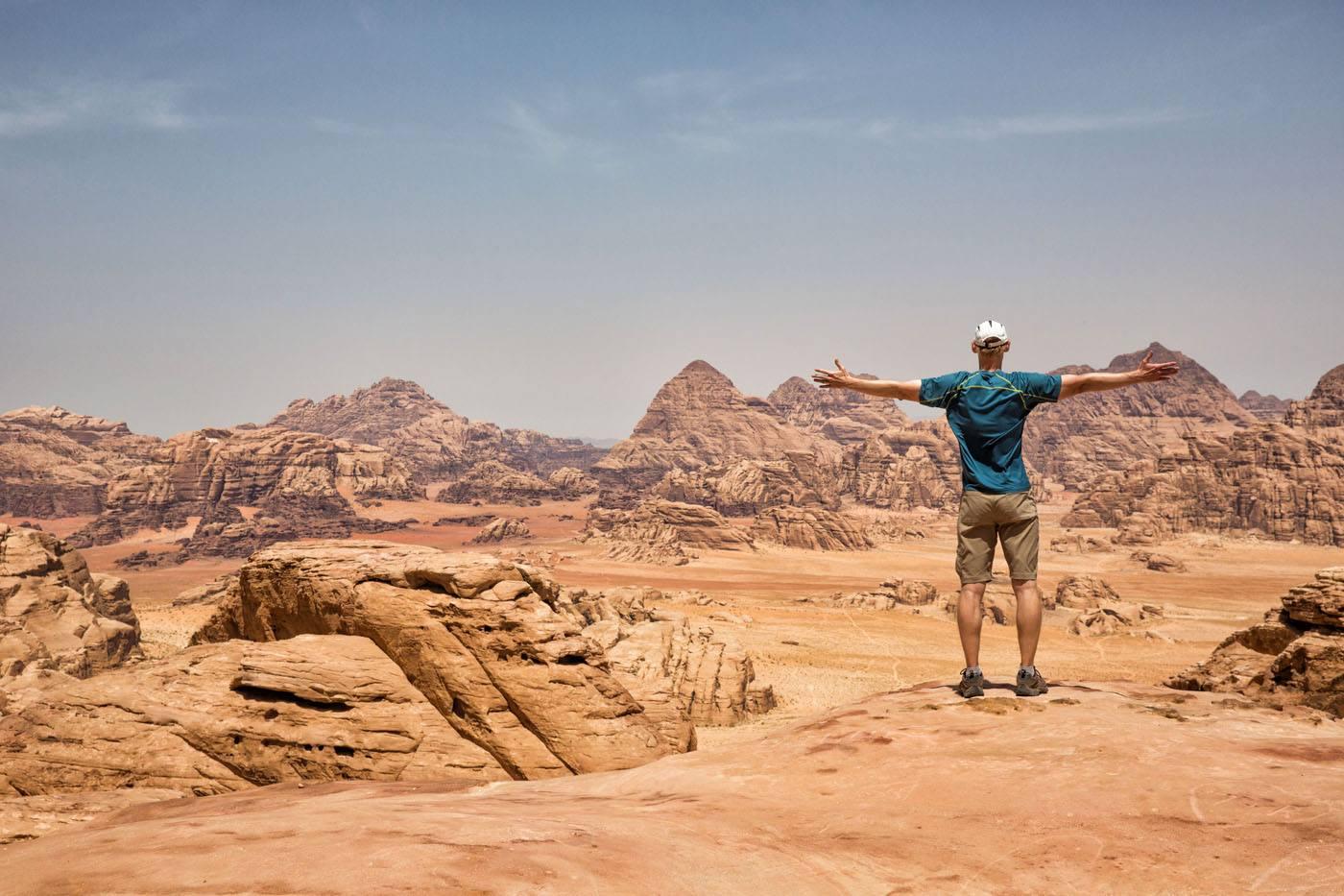 Tim Rivenbark in Jordan