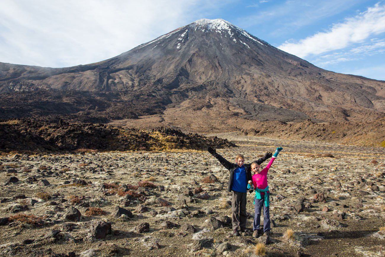 Tongariro with Kids