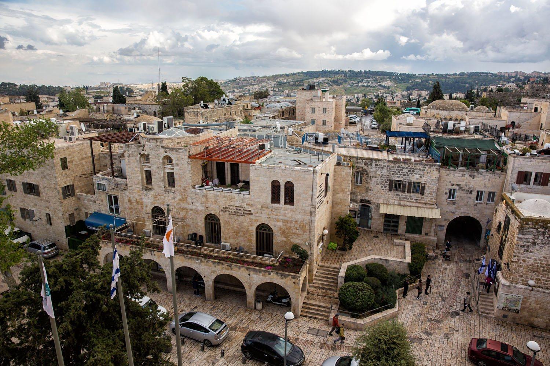 View from Hurva Synagogue