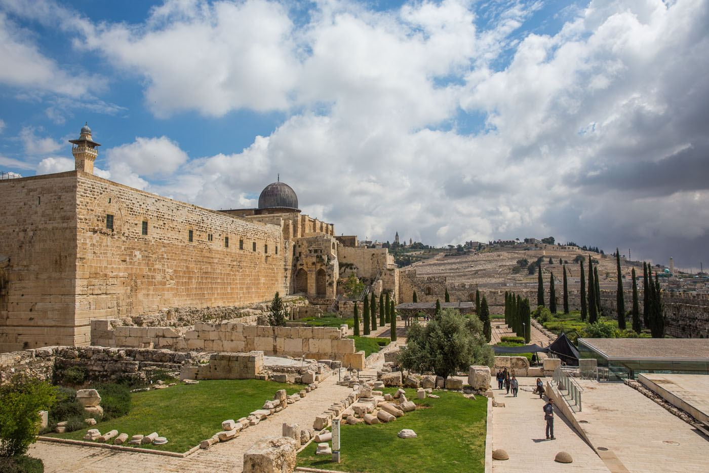 View of Jerusalem and Mount of Olives
