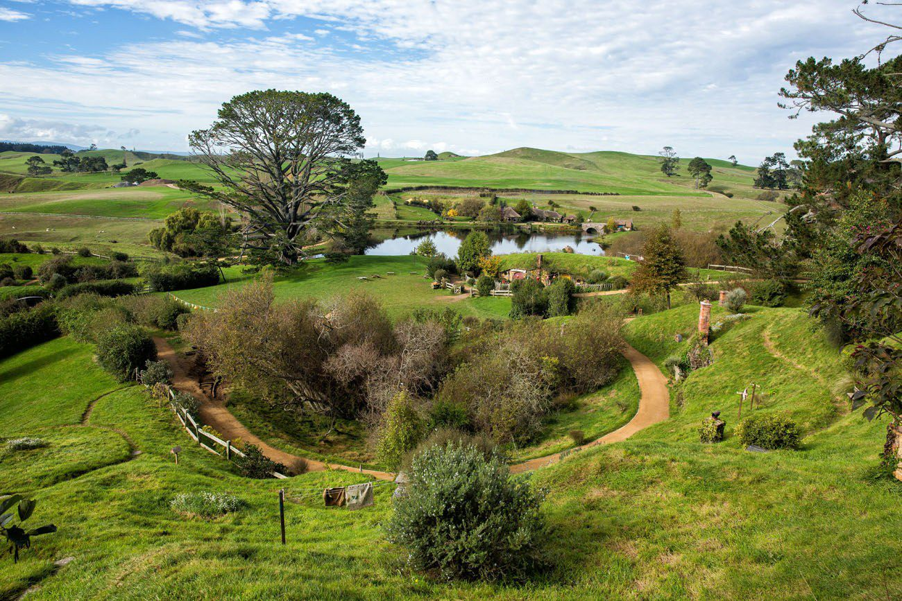 View over Hobbiton
