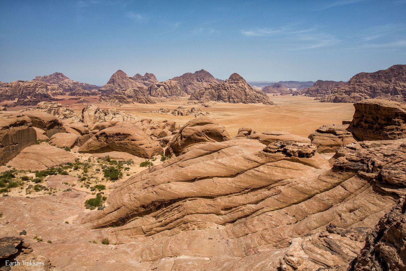 Wadi Rum Jordan View