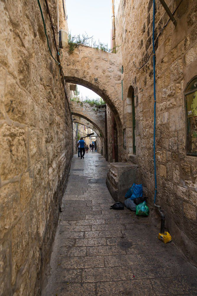 Walking through Jerusalem