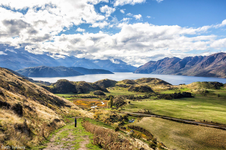 Wanaka New Zealand in April