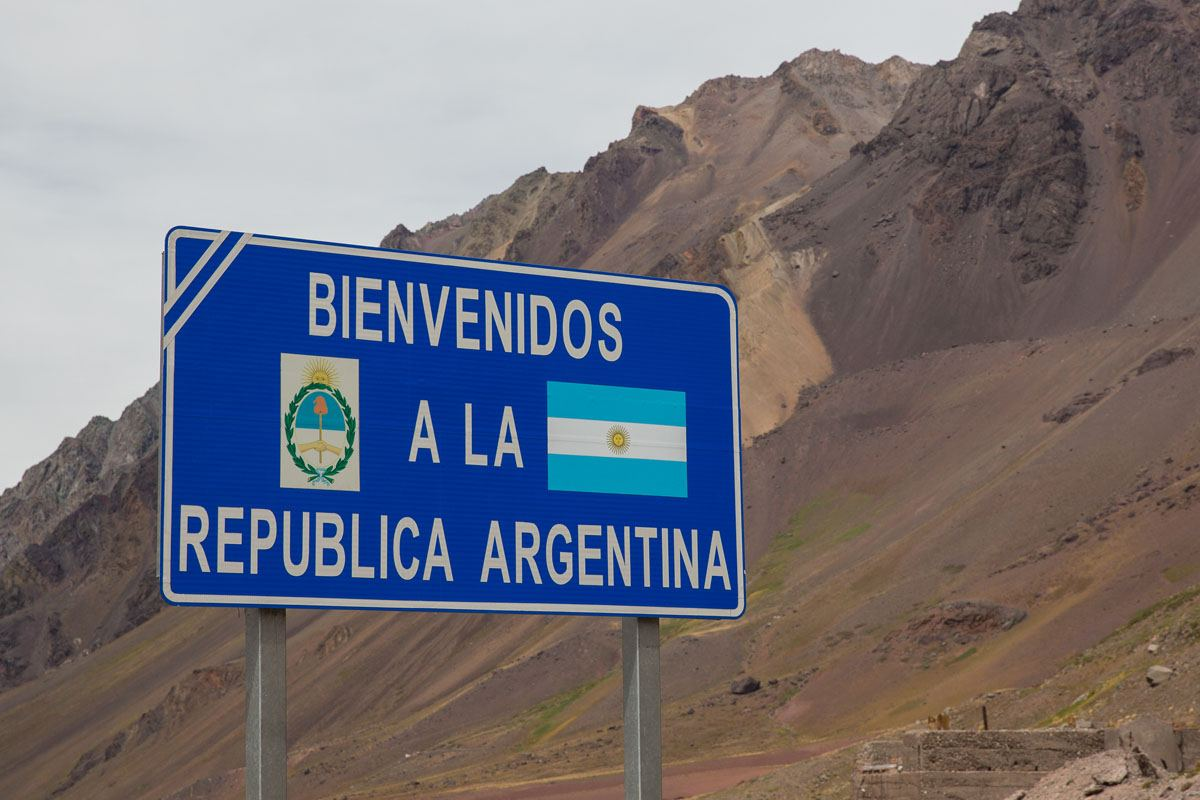 Crossing Border From Argentina To Chile With Rental Car