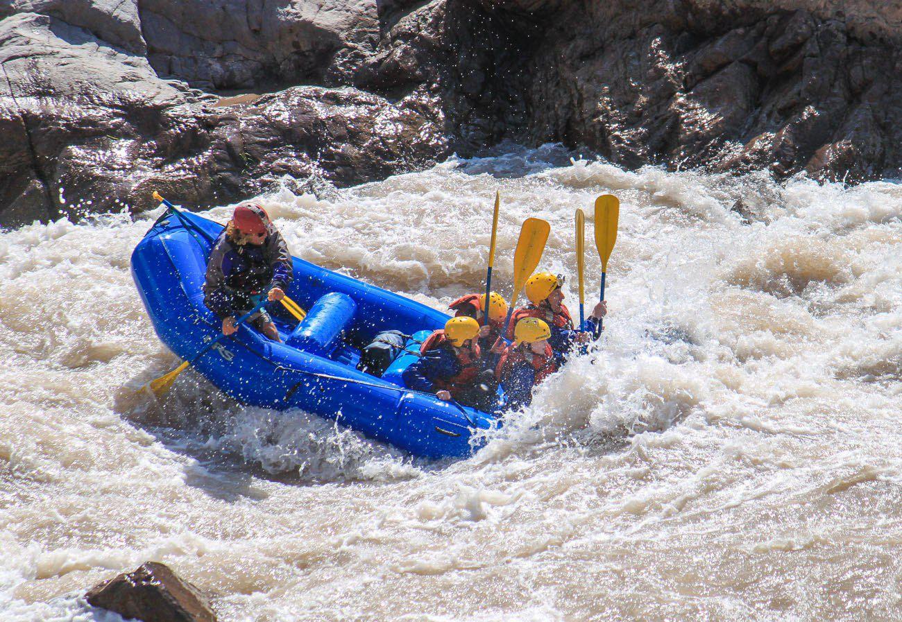White Water Rafting Mendoza Argentina