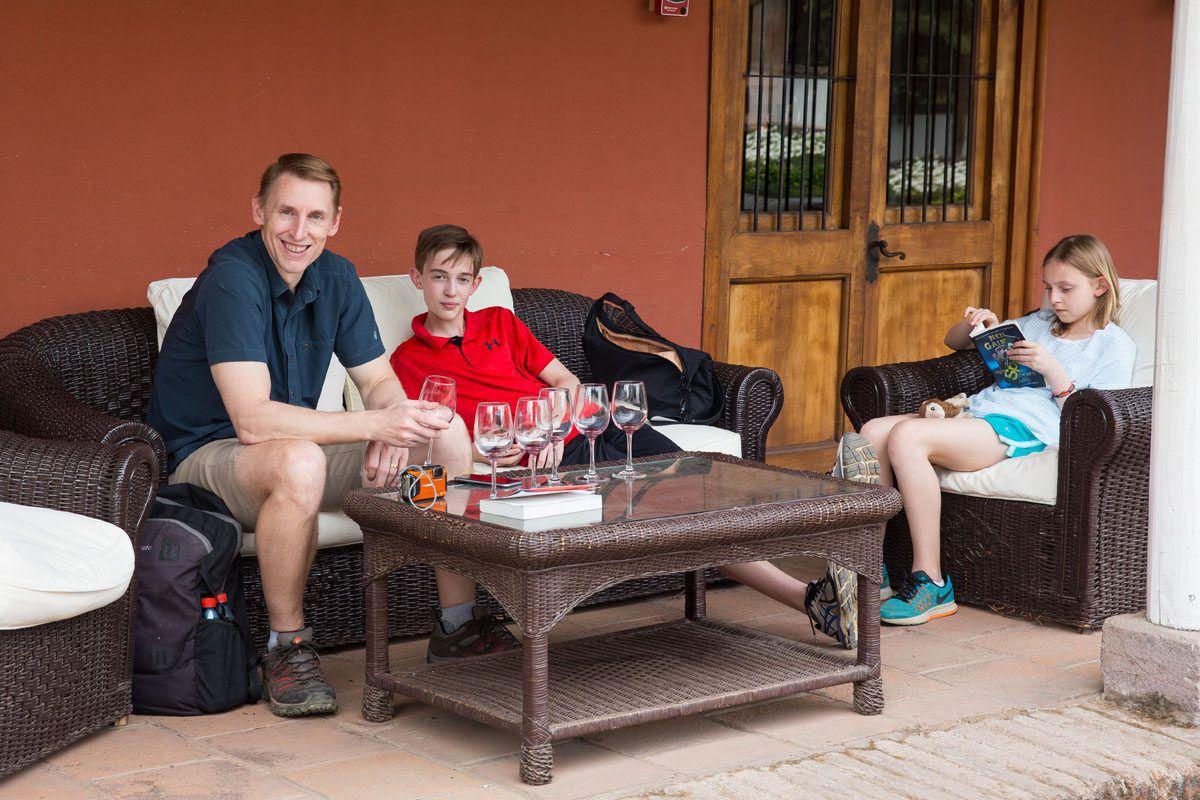 Wine Tasting Santa Rita