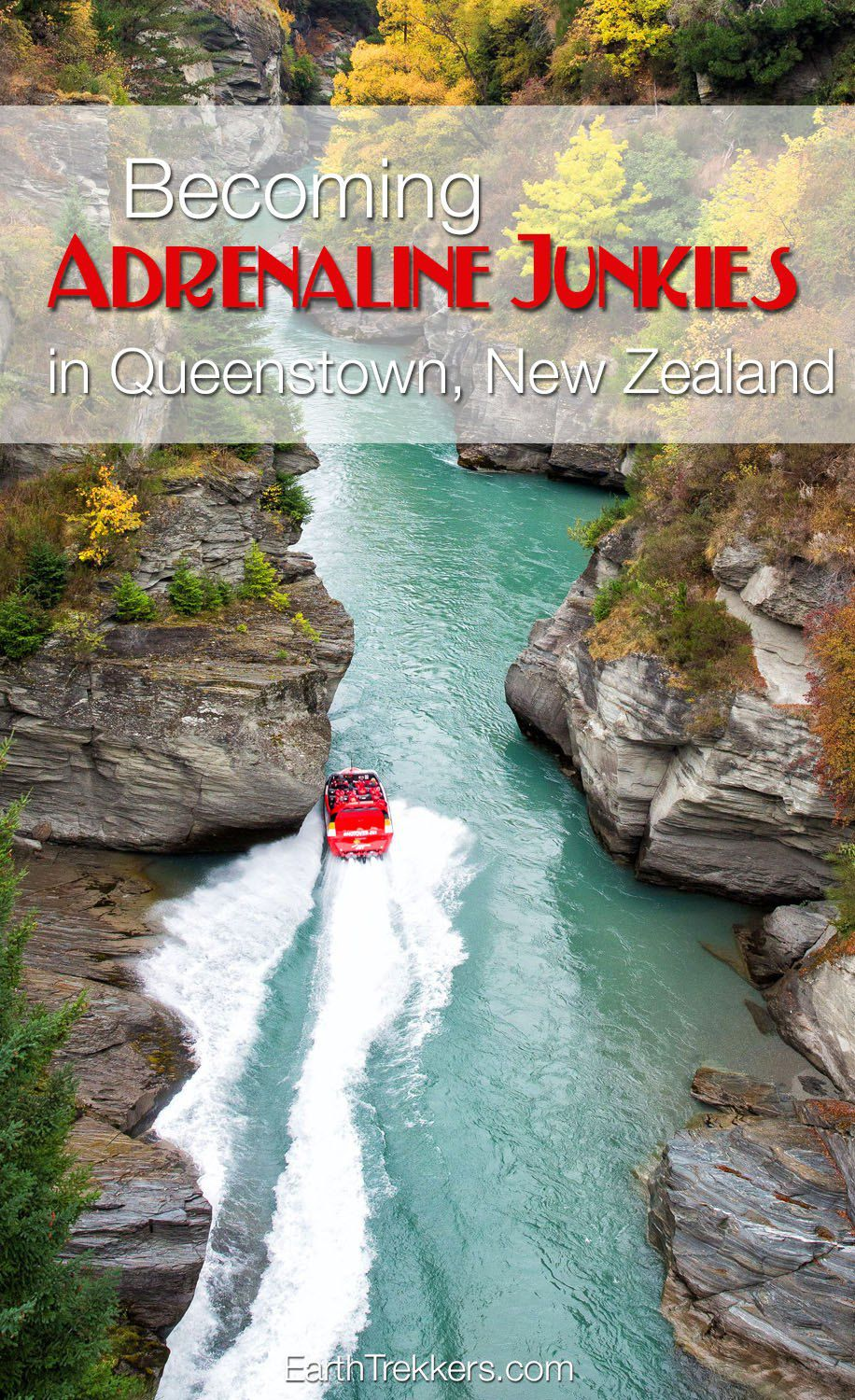 Adrenaline Junkies in New Zealand