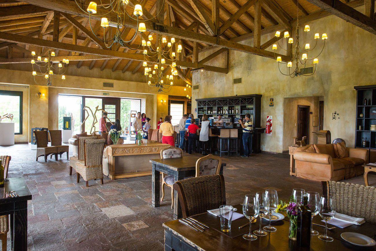 Andeluna Wine Tasting Room