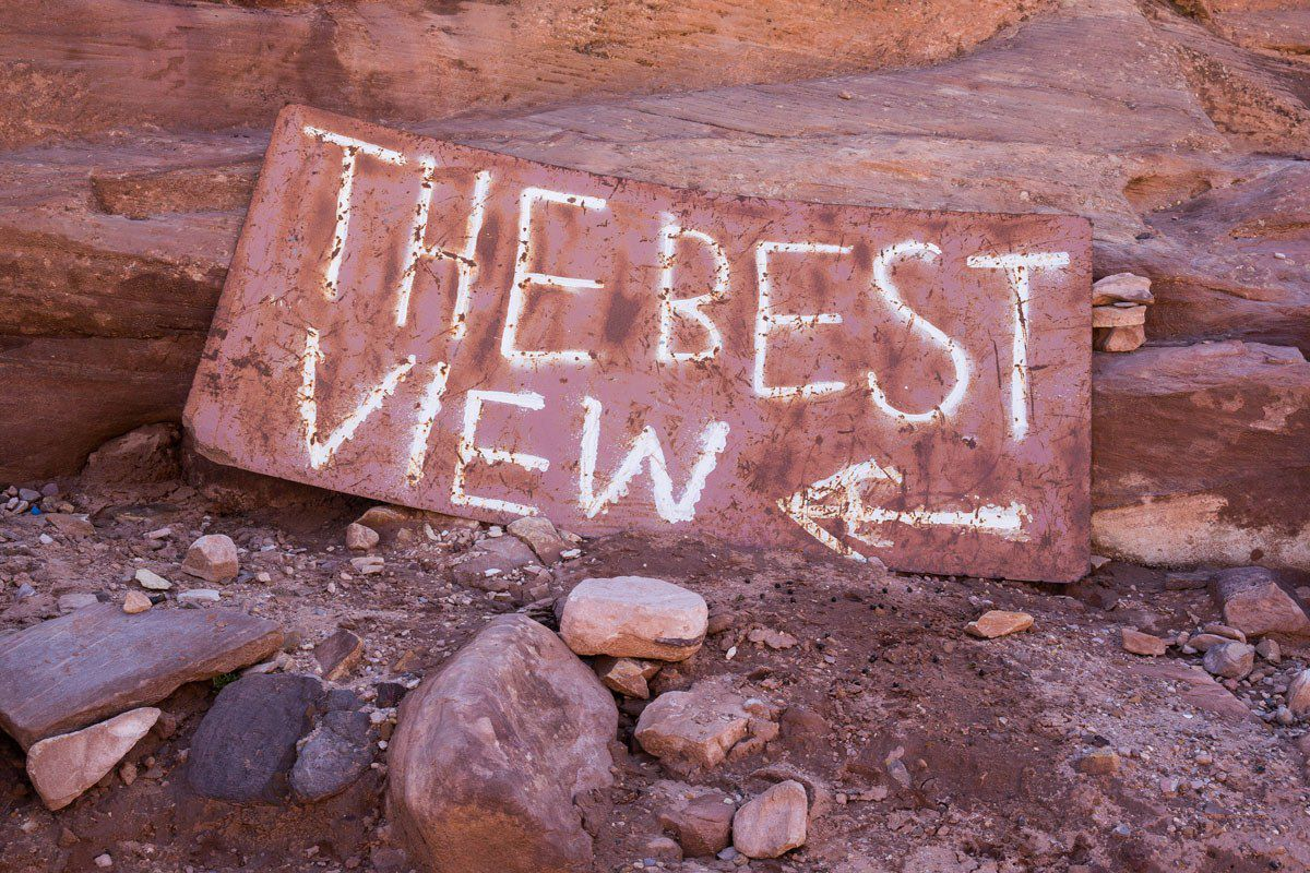 Best View in Petra