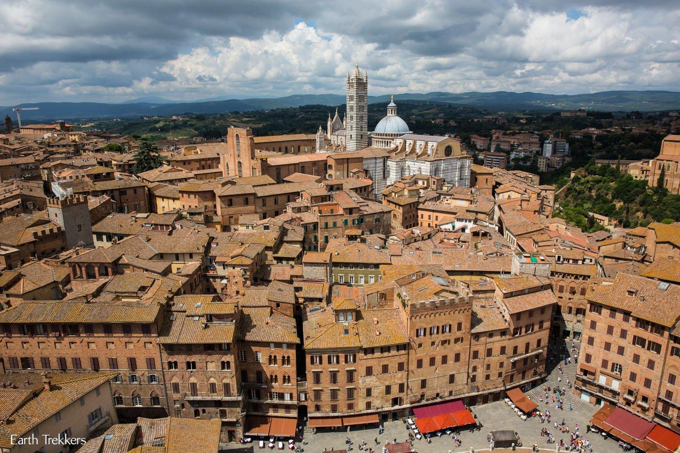 Best View of Siena