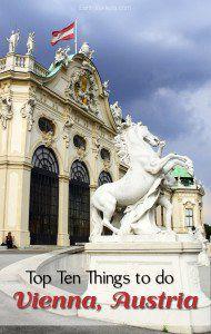 Best things to do Vienna Austria