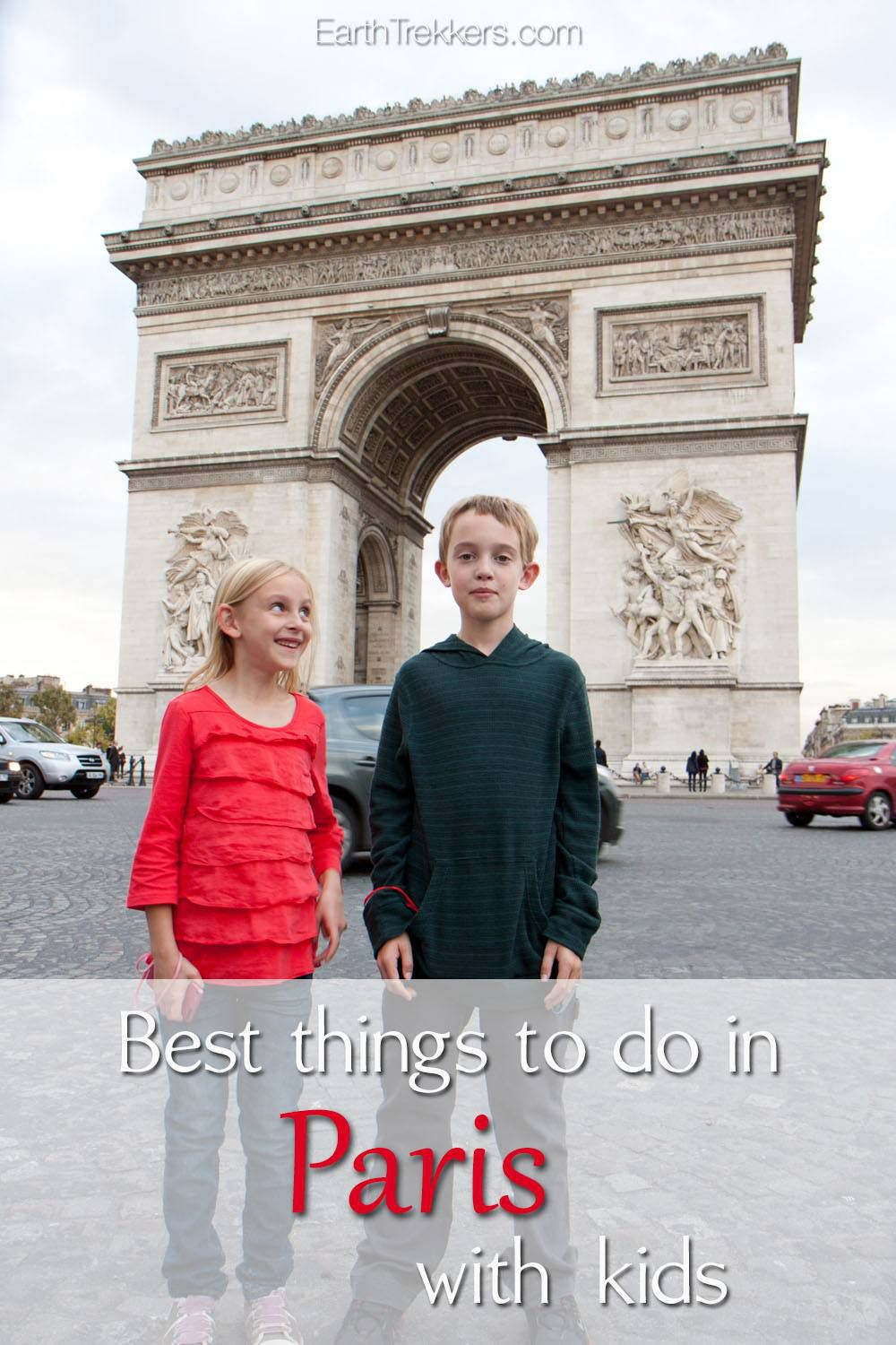 Best things to do in Paris with Kids