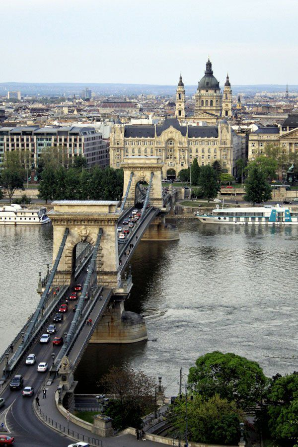 Budapest Bridge Central Europe Itinerary
