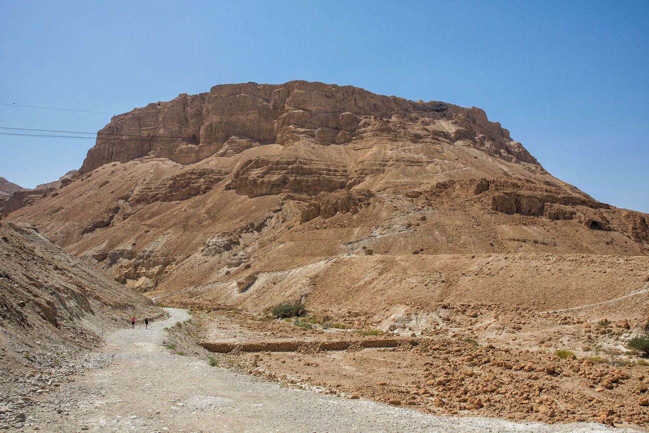 Climbing Masada