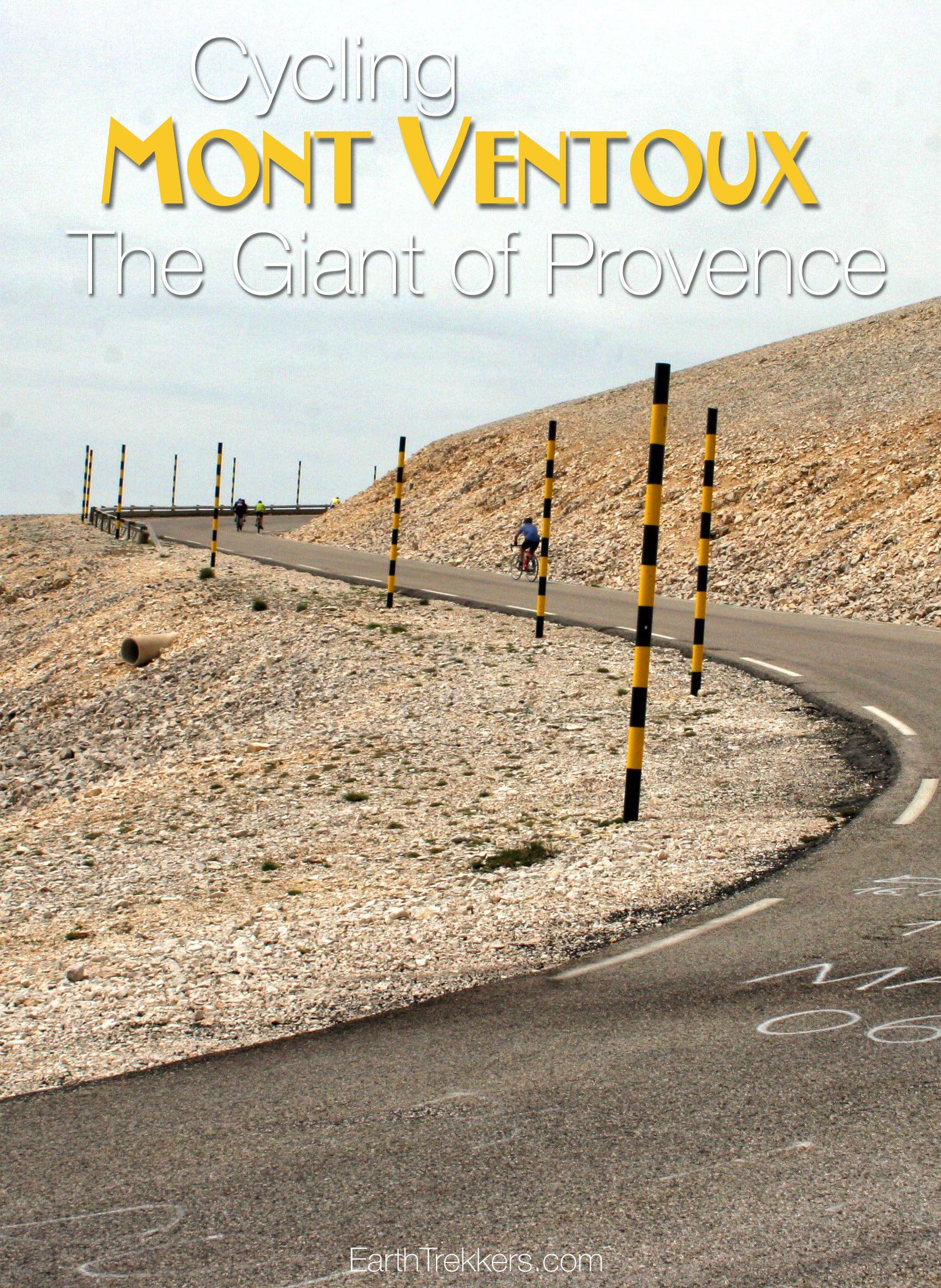 Cycling Mont Ventoux Provence France