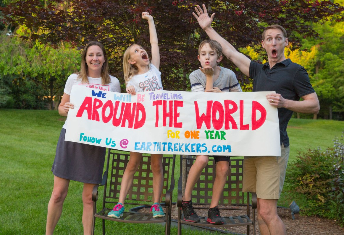 Earth Trekkers Around the World Family