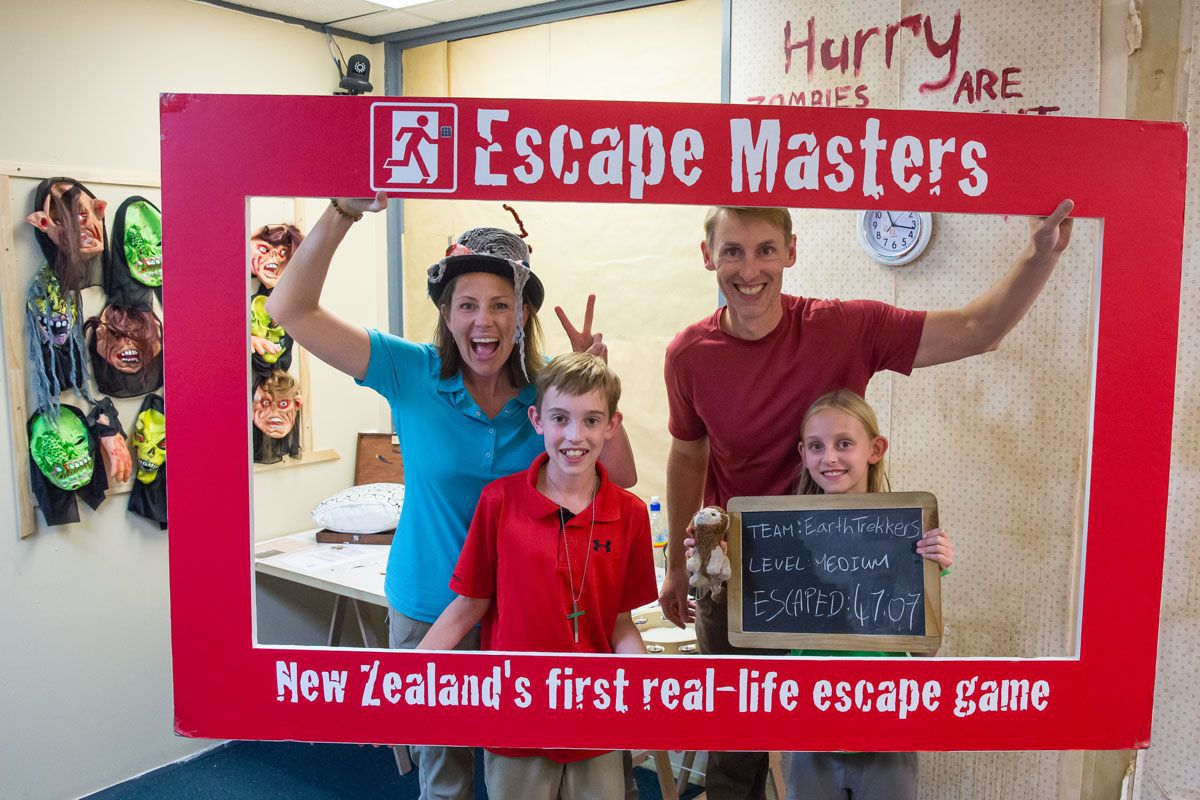Image result for Escape Masters in Auckland auckland kids