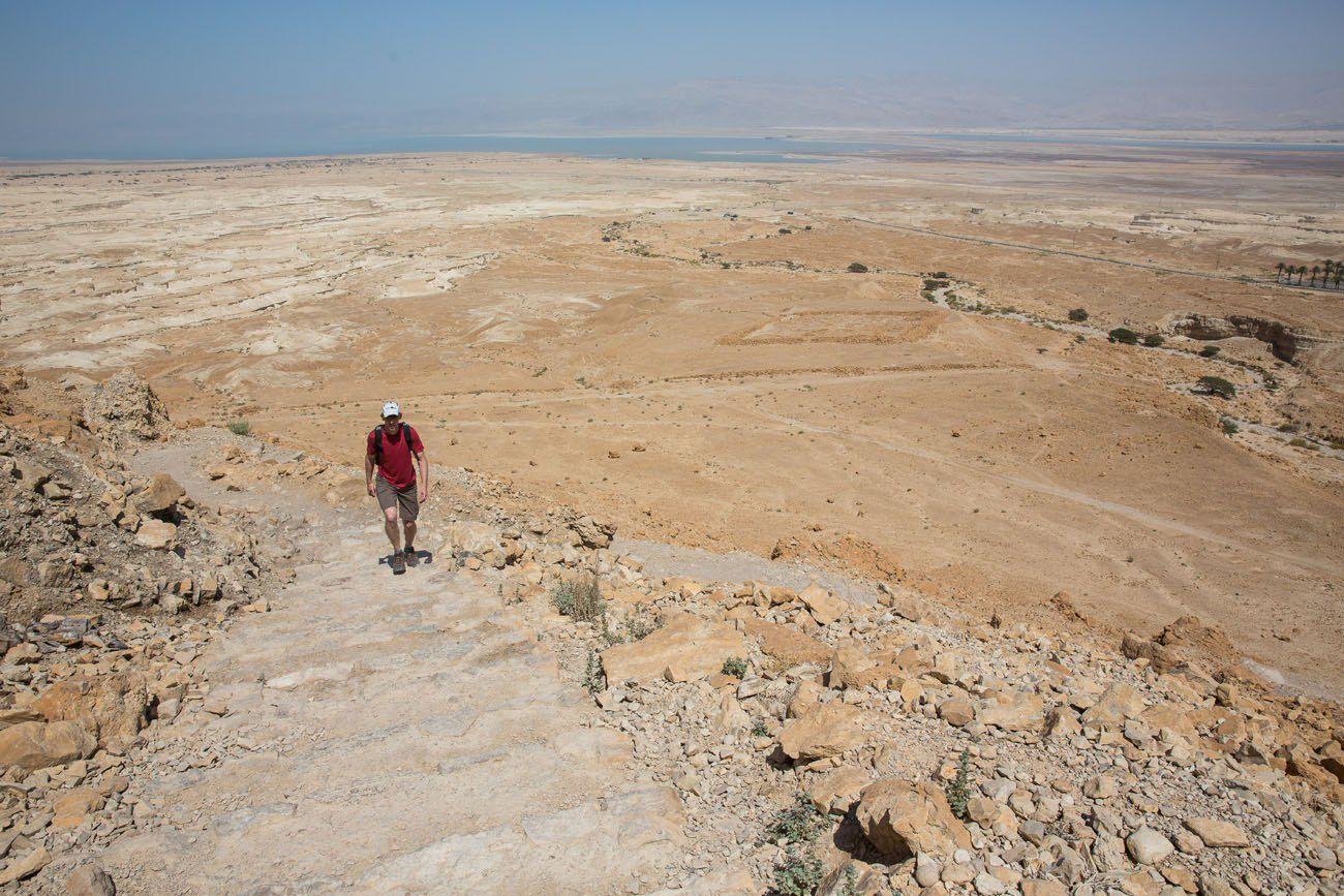 Hiking Masada