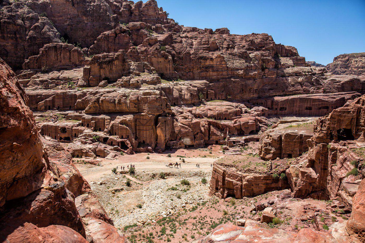 Hiking Petra