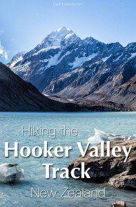 Hooker Valley Track New Zealand