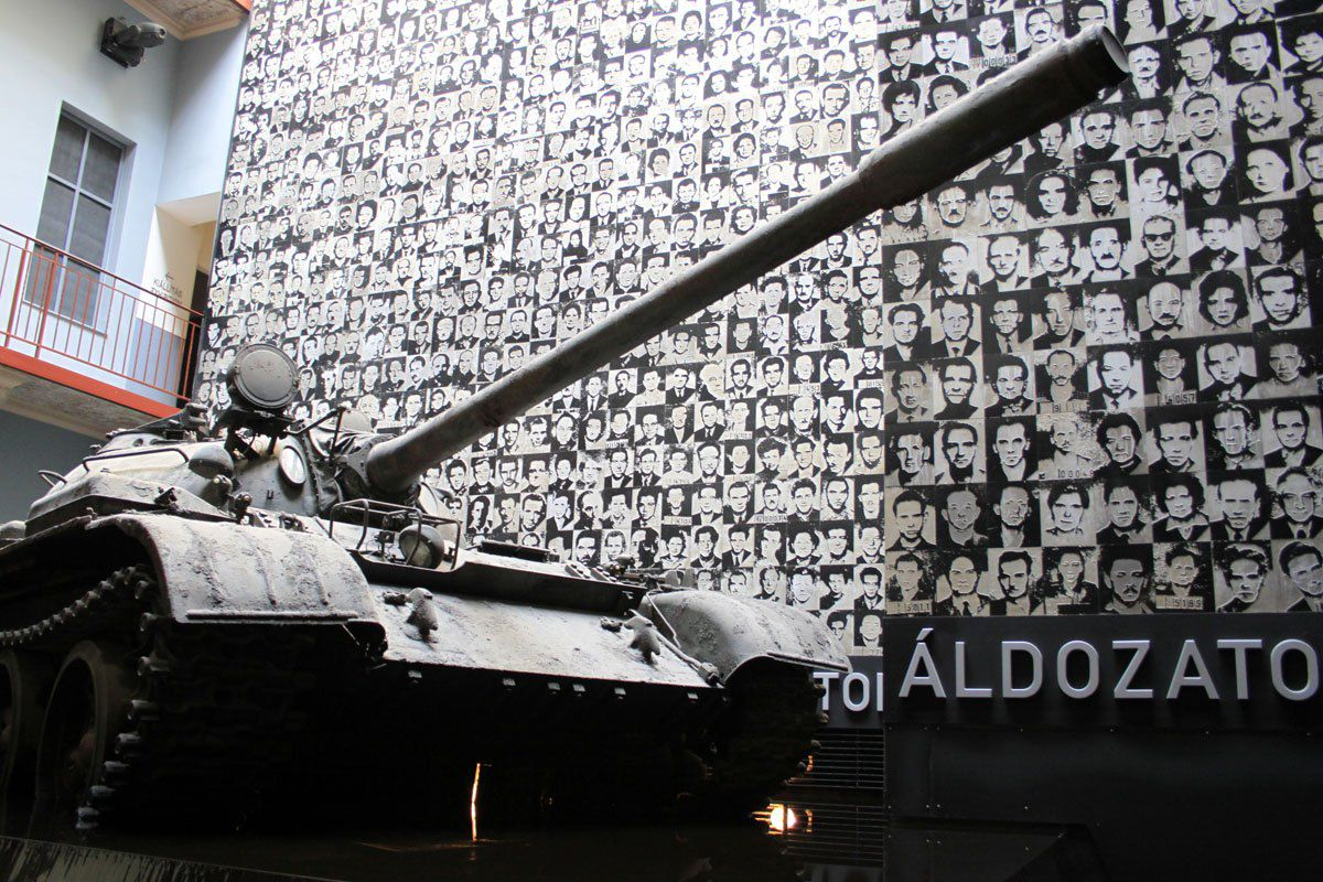 House of Terror Prague Central Europe Itinerary