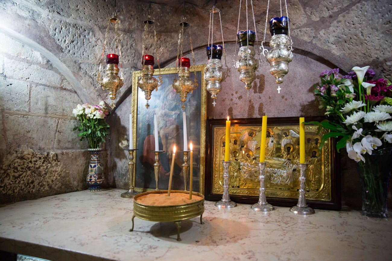 Inside Tomb Virgin Mary Best things to do in Jerusalem