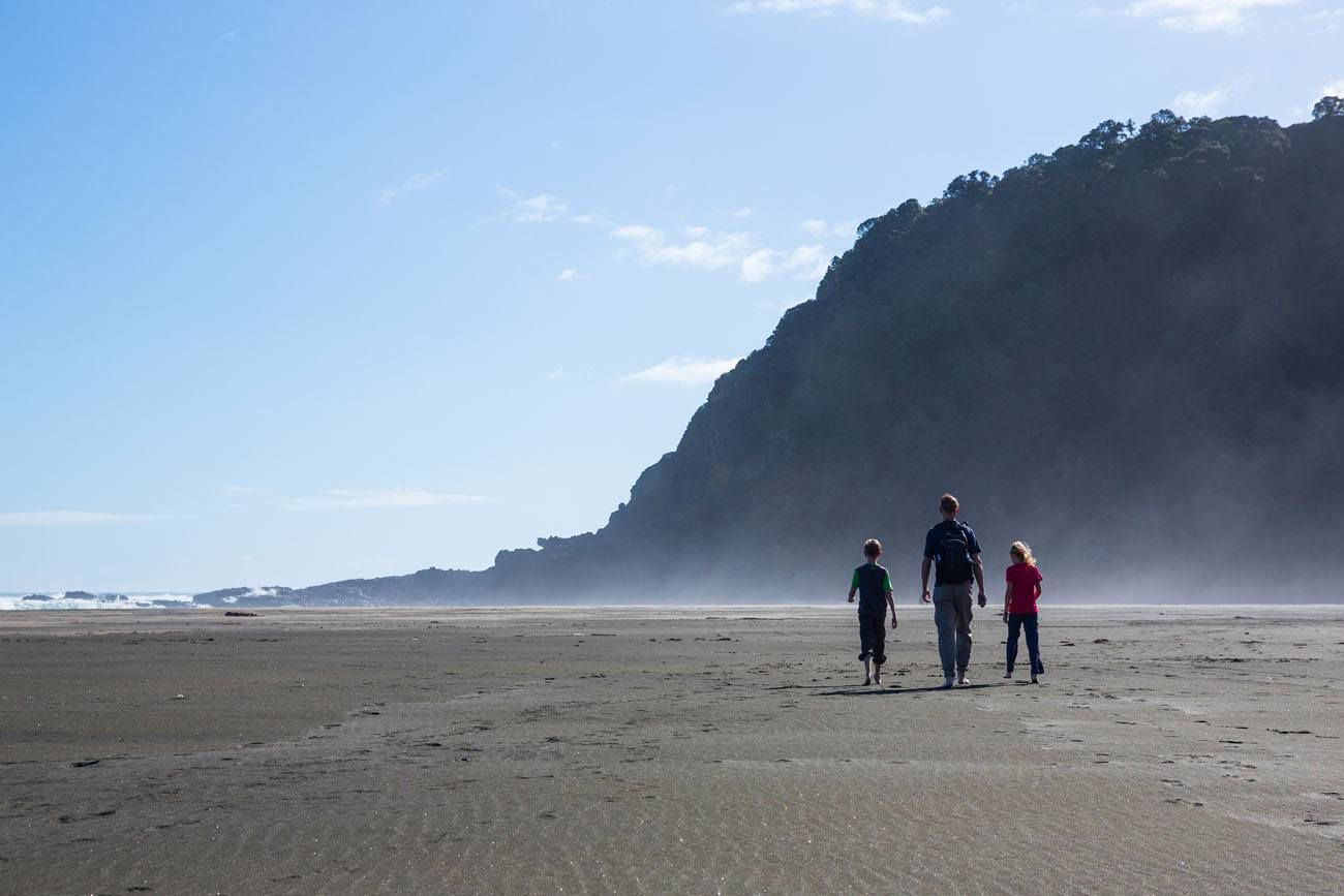 Karekare Beach New Zealand