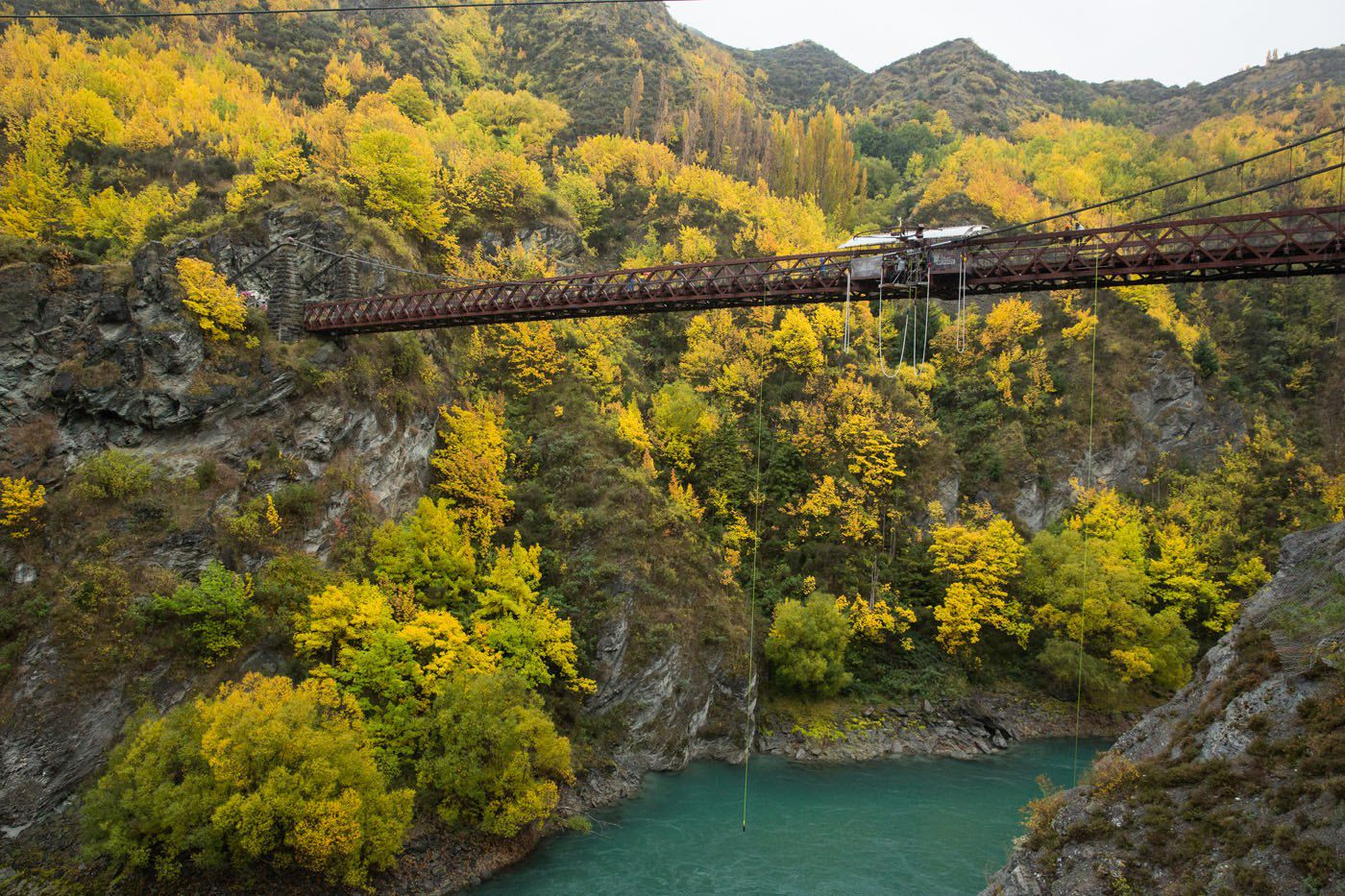 Kawarau Bridge New Zealand
