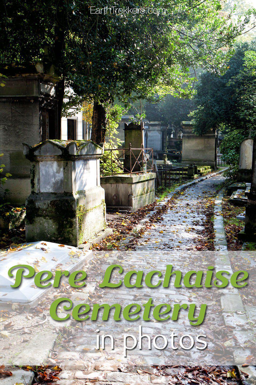 Paris Pere Lachaise Cemetery