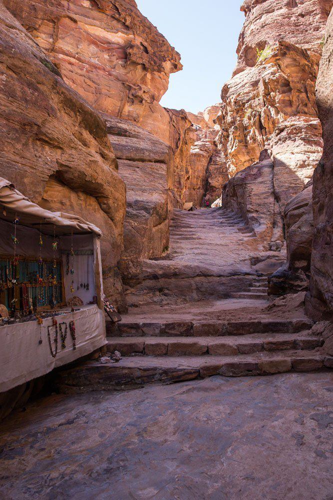 Path to Monastery Petra