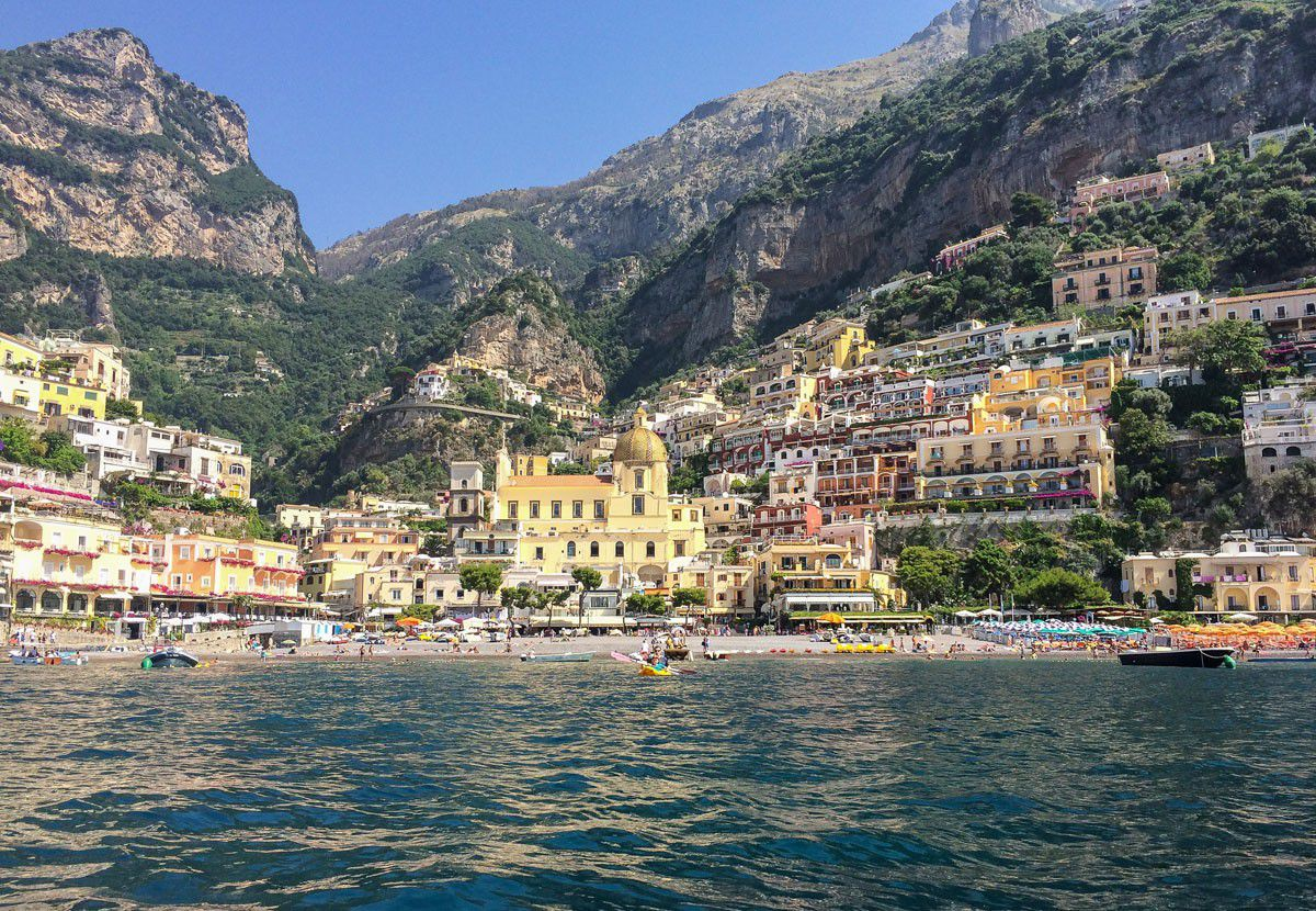 Positano Kayacking