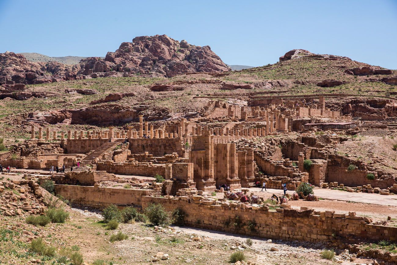 Roman Ruins Petra