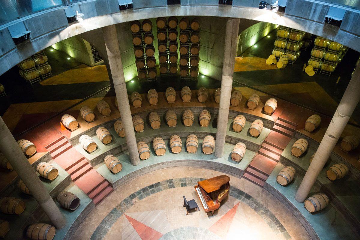 Salentein Wine Cellar