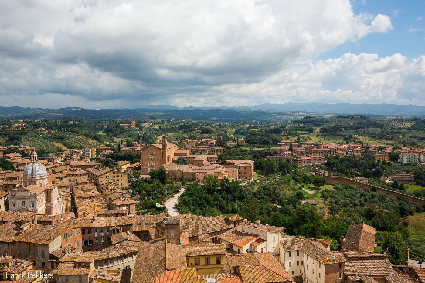 Siena in July
