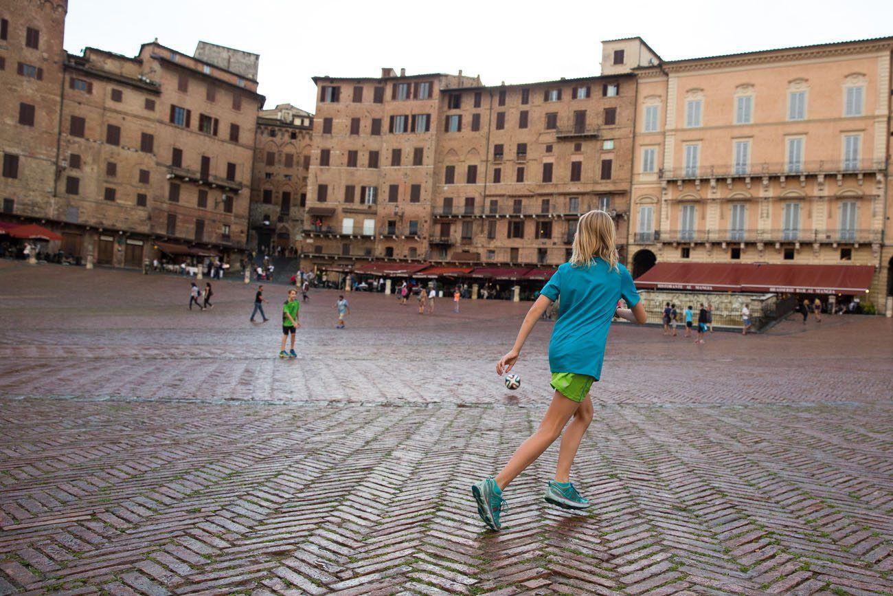 Soccer in Siena