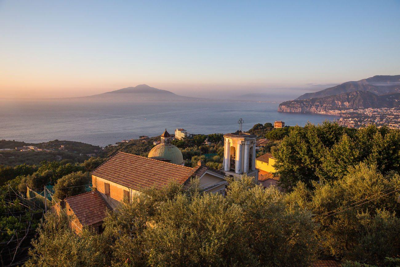Sorrento and Vesuvius