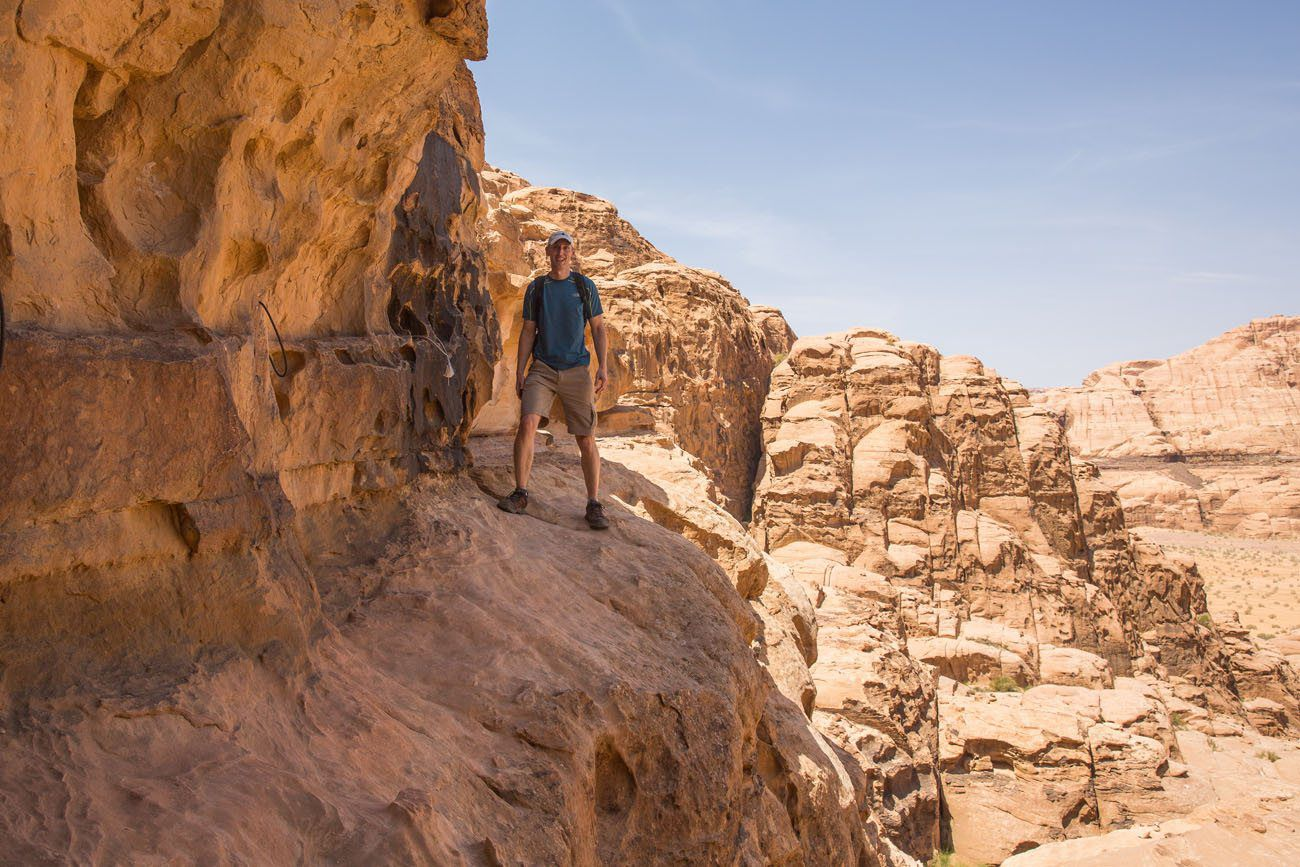 Trail to Jebel Burdah