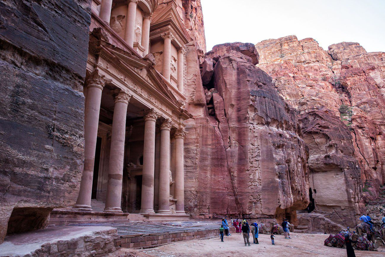 Treasury Side View Petra