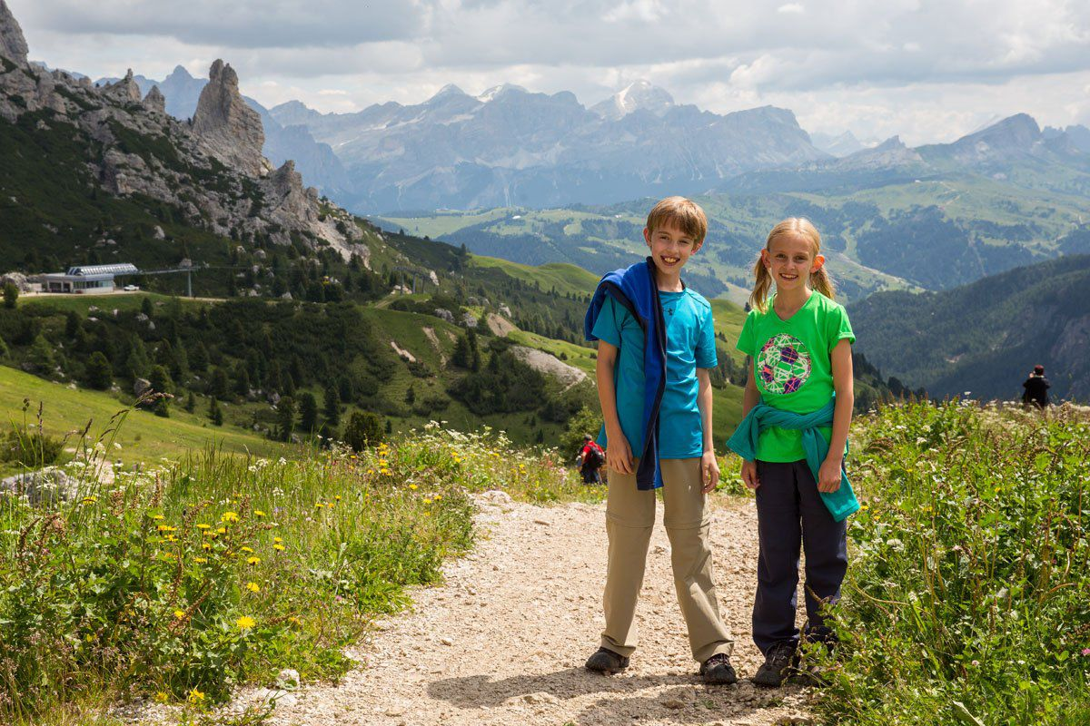 Tyler and Kara Dolomites