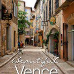 Vence French Riviera Town