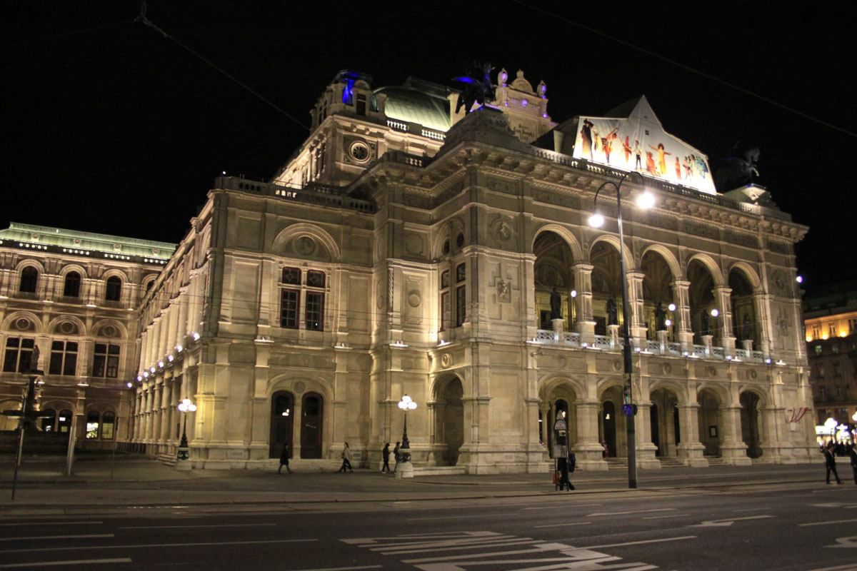 Vienna Opera House Central Europe Itinerary